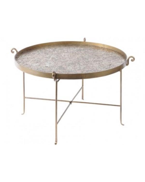 Libra Metallic Mosaic Coffee Table -Xmas 18